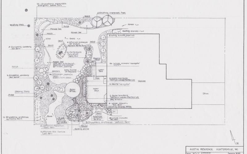 Austin Residence - Master Plan