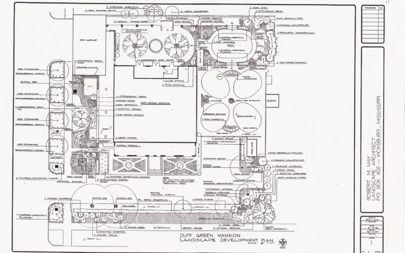 Duff Green Mansion - Master Plan