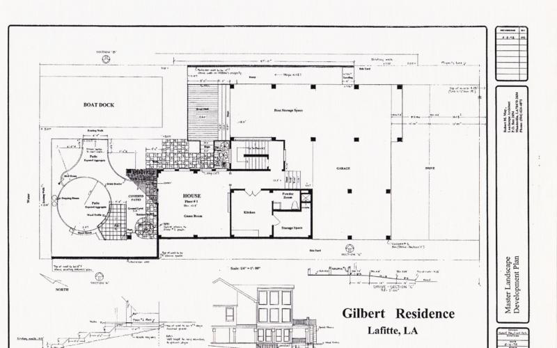 Gilbert Residence - Master Plan