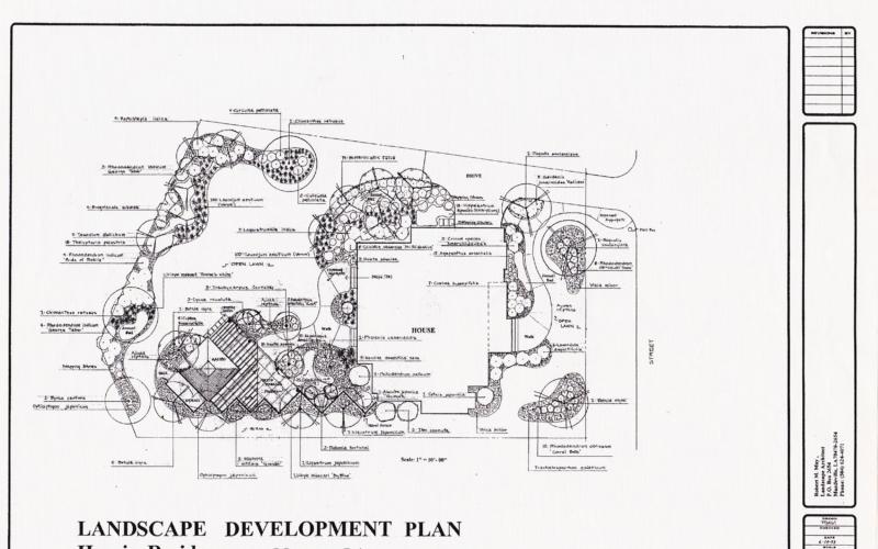 Harris Residence - Master Plan