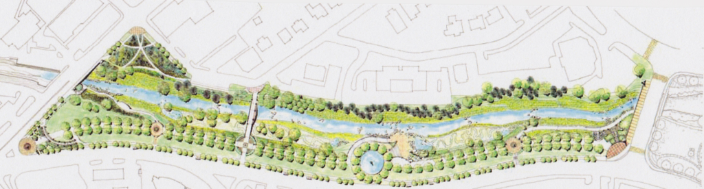 Little Sugar Creek Greenway Mid Town Reach - Master Plan LandDesign Inc.