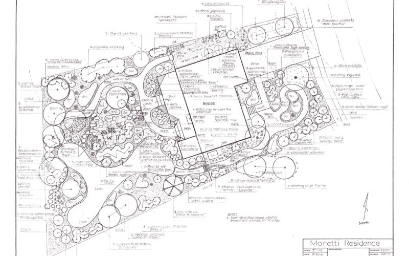 Moretti Residence - Master Plan