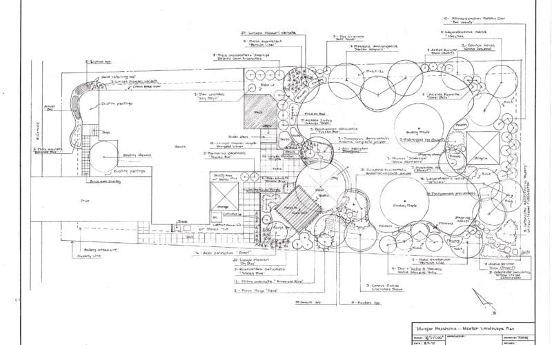 Munger Residence - Master Plan