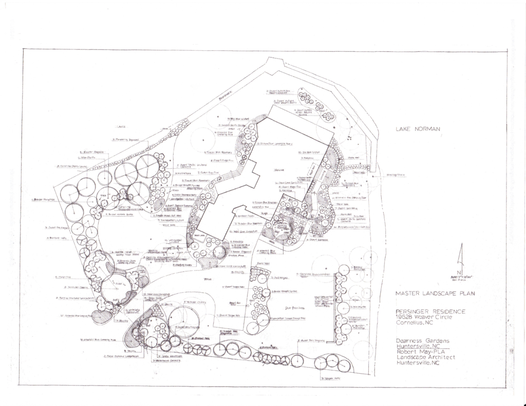 Pensinger Residence - Master Plan