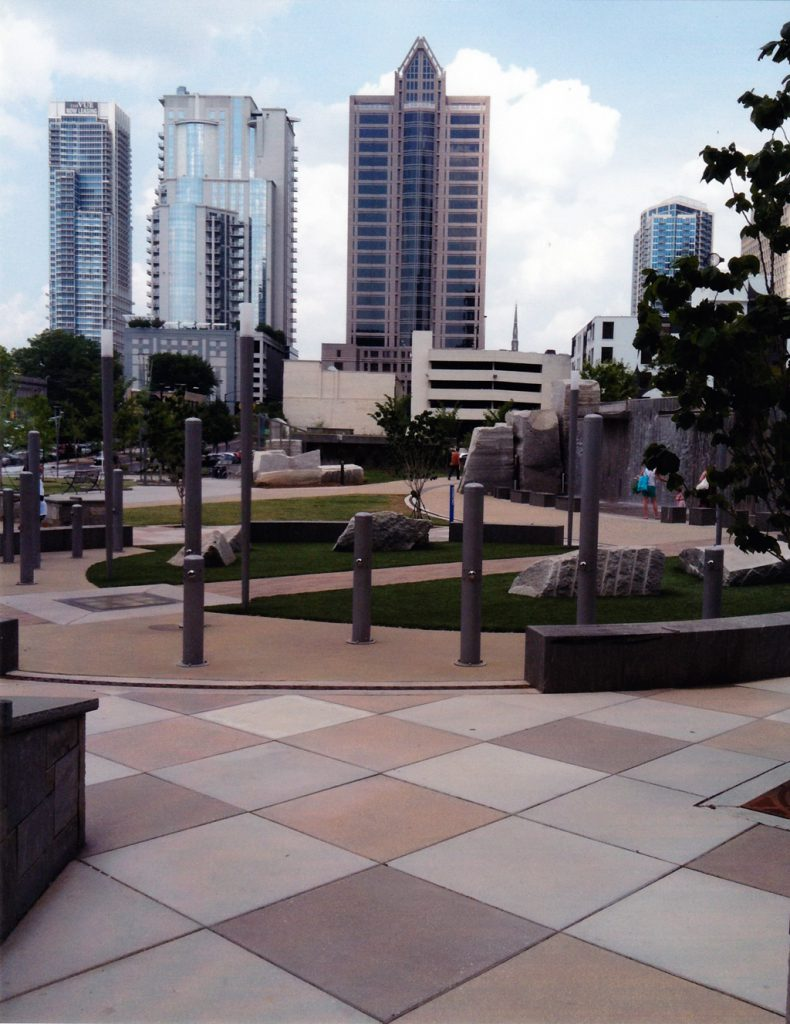 Romare Bearden Park - City View Charlotte,NC