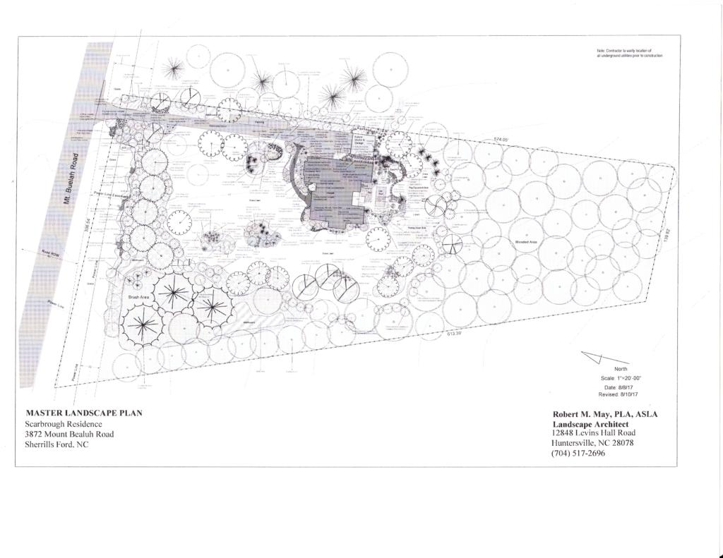 Scarbrough Residence - Master Plan