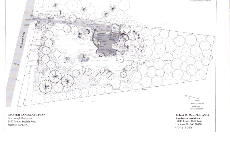 Scarbrough Residence - Master Plan