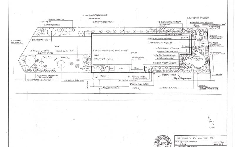 Yeakley Residence - Master Plan